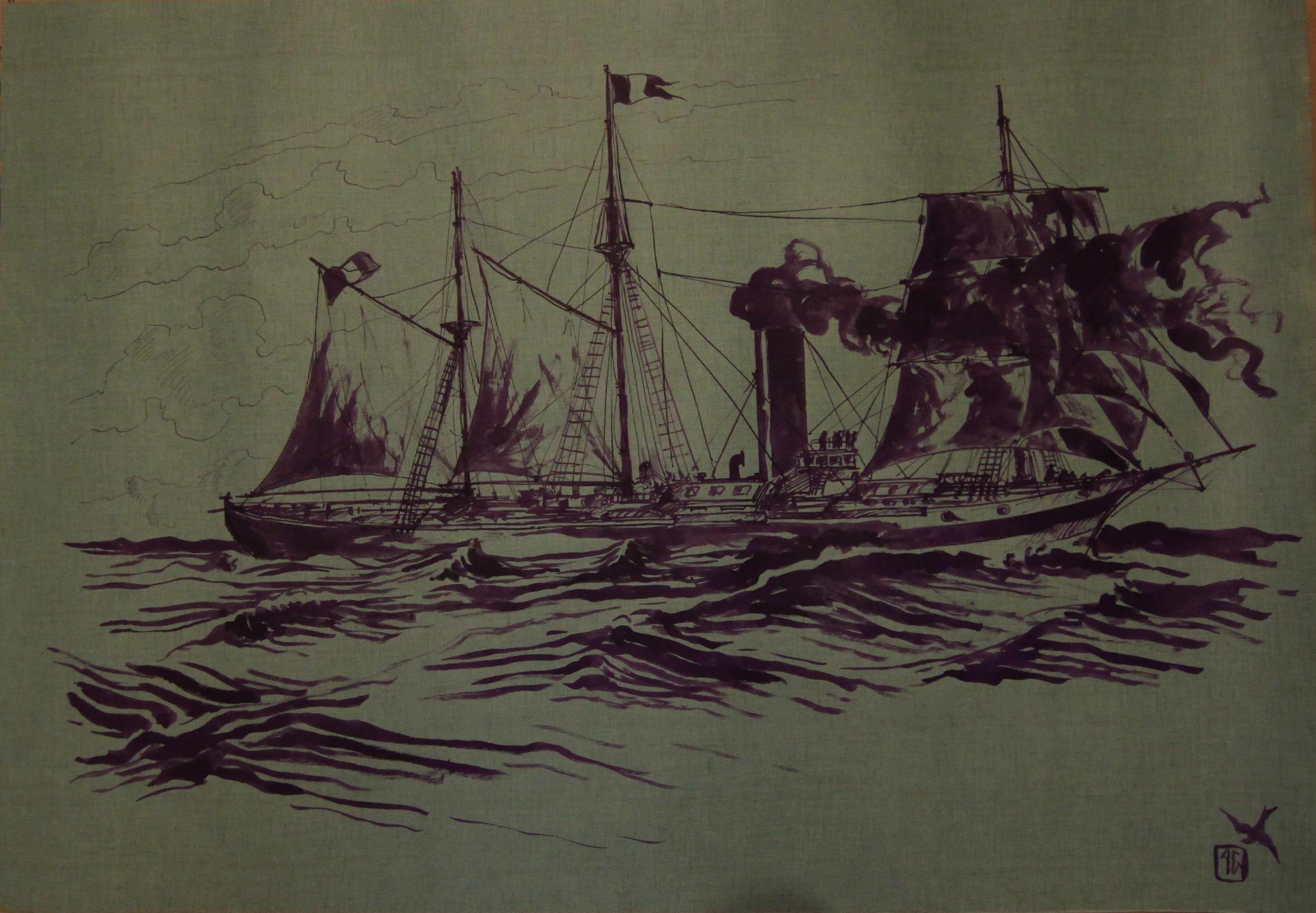 bateau à roues