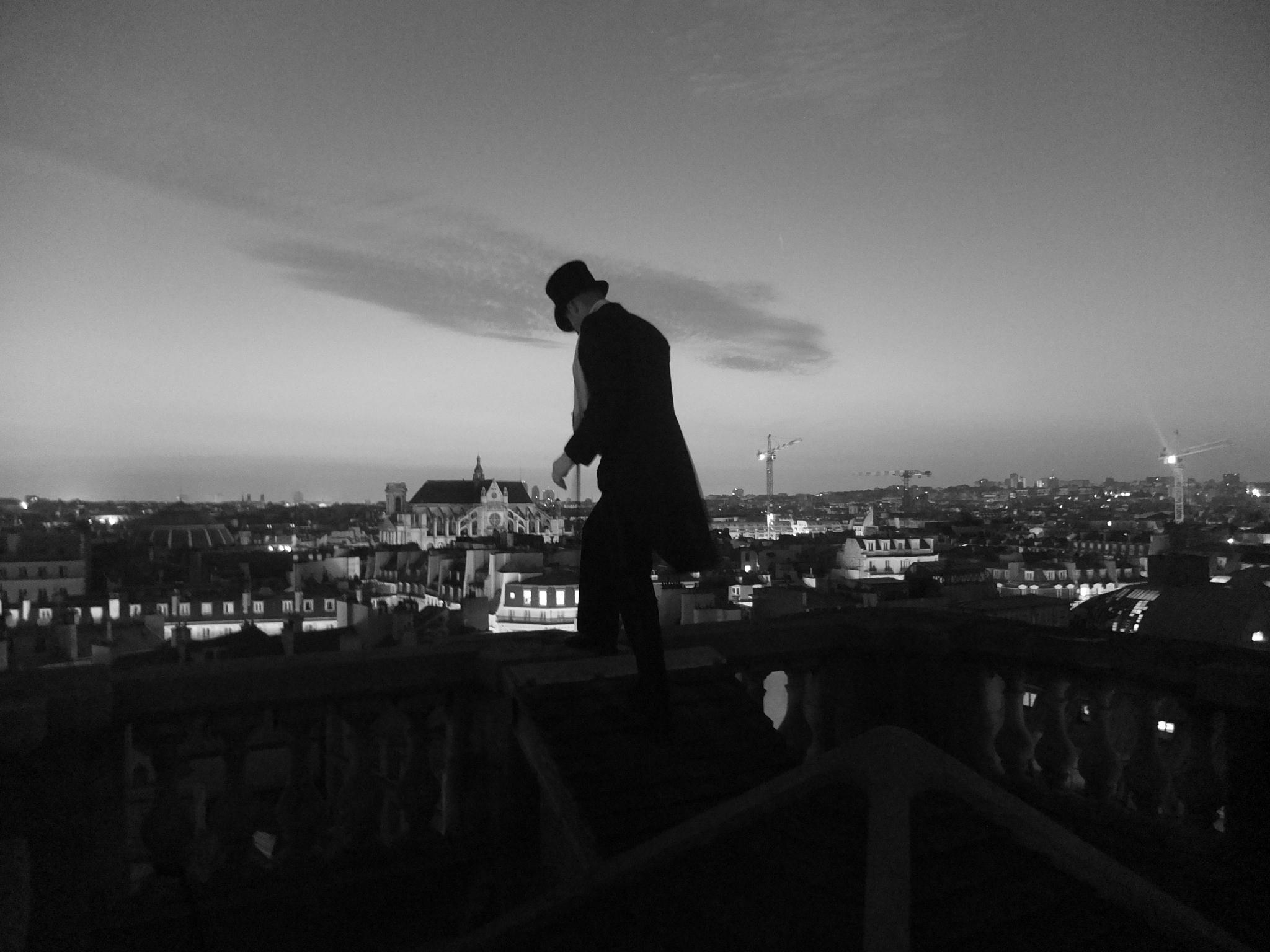 Arsène Lupin sur les toits de Paris